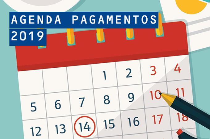 AGENDA DE PAGAMENTO DO IPASMA - 2019