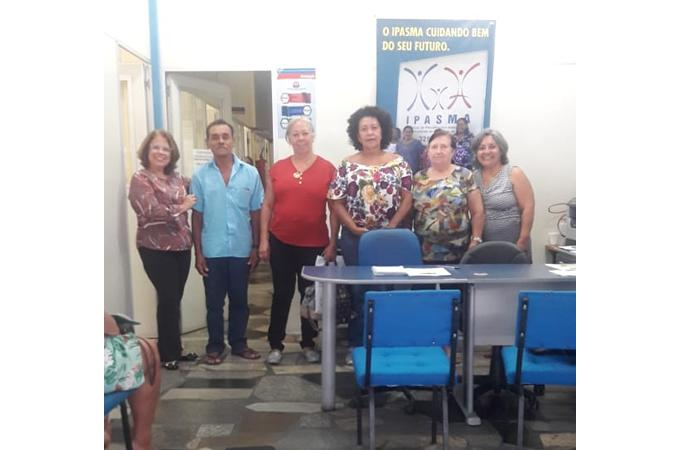IPASMA RECEPCIONA SERVIDORES APOSENTADOS NO MÊS DE SETEMBRO